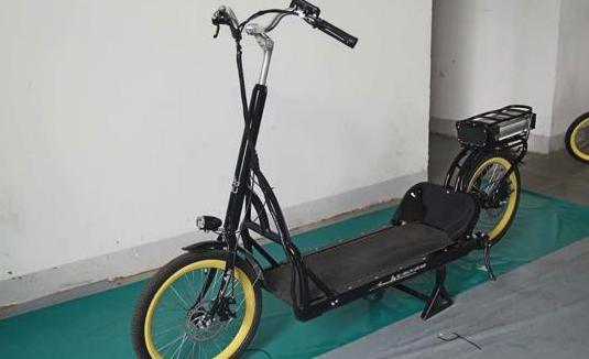 Nueva en la ciudad bicicleta eléctrica