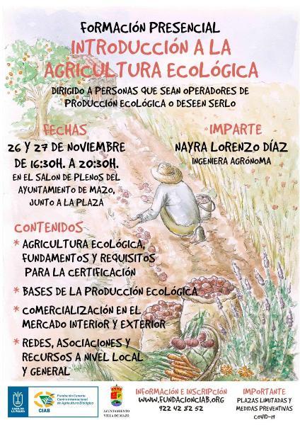 Introducción a la agricultura ecológica en villa de mazo