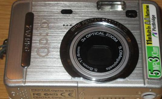 Camara digital pentax optio s50