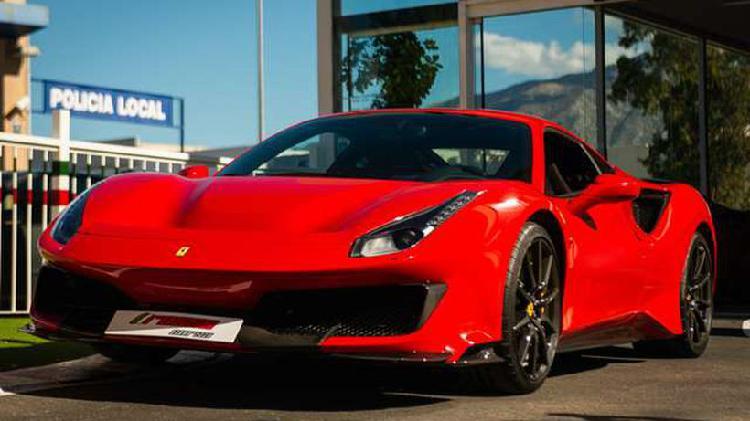 Ferrari 488 pista *spanish registered & low km!*