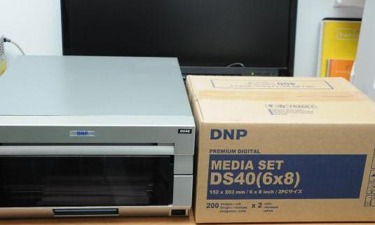 Impresora para imprimir fotos. impresora dnp ds40