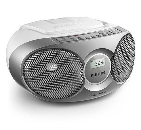 Philips az215s/12 - minicadena con radio cd, cd-r, cd-w fm