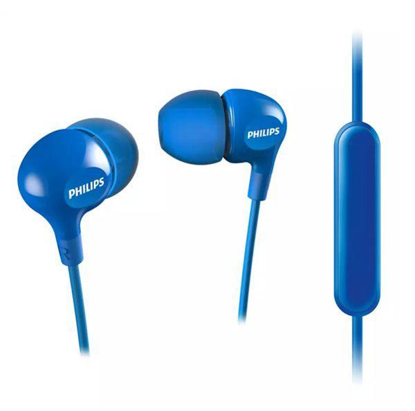 Philips she3555bl/00 - auriculares con micrófono en color
