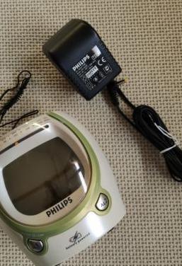 Radio despertador philips aj3050 fm/am
