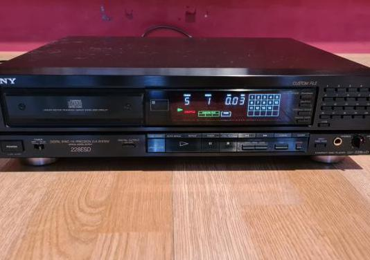 Reproductor de cd sony cdp-228 esd