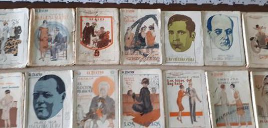 Revistas el teatro moderno años 20