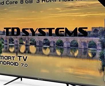 """Smart tv 58"""" led 4k td systems k58dlj10us"""