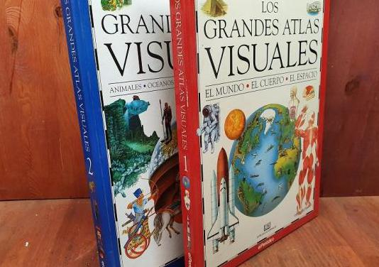 Los grandes atlas visuales 2 tomos