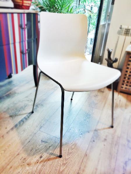 2 sillas ikea blancas