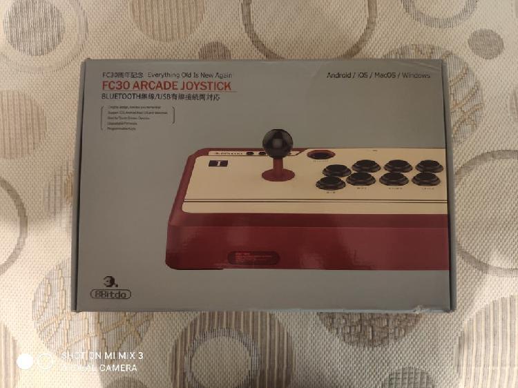 8 bitdo arcade joystick mando bluethoot