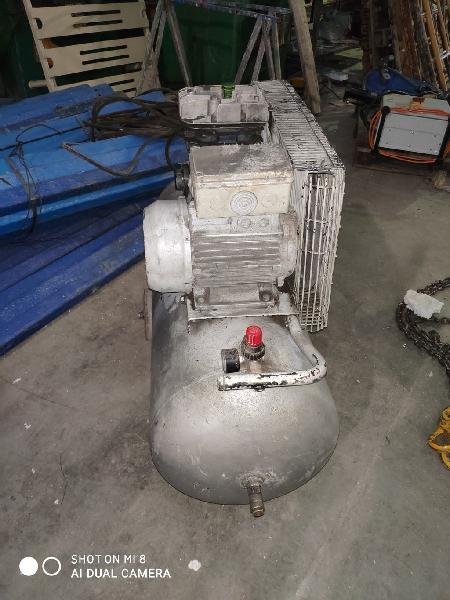 Compresor de aire con correas de 100 l