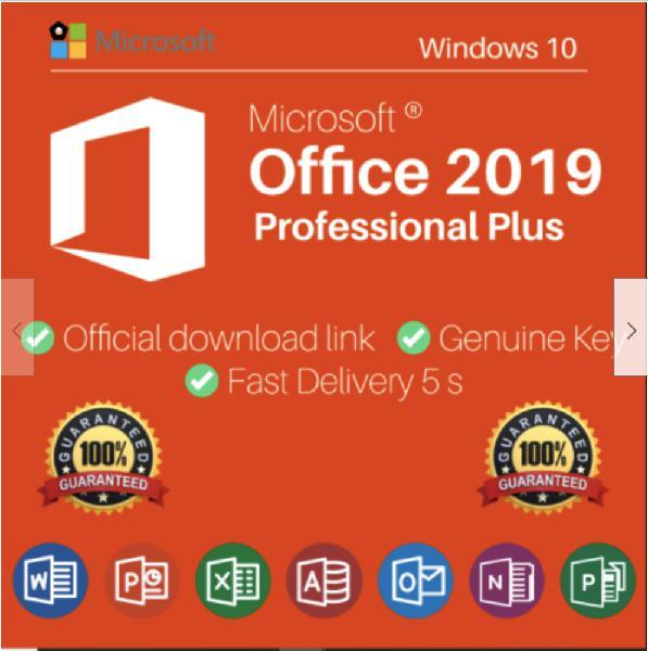 Microsoft office 2019 professional plus | clave