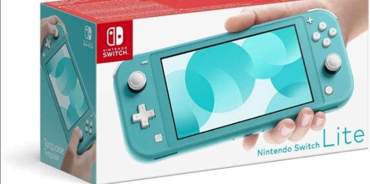 Nintendo switch lite nueva turquesa