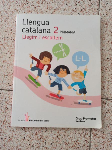 Nuevo llengua catalana 2 primaria