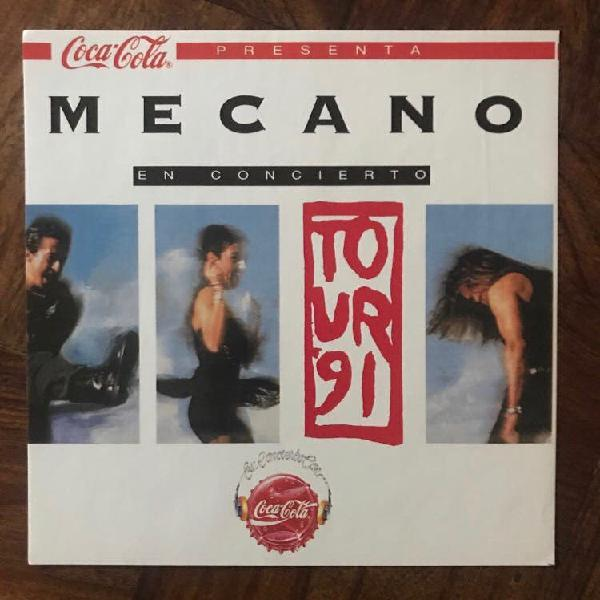 Pegatina mecano oficial tour 91