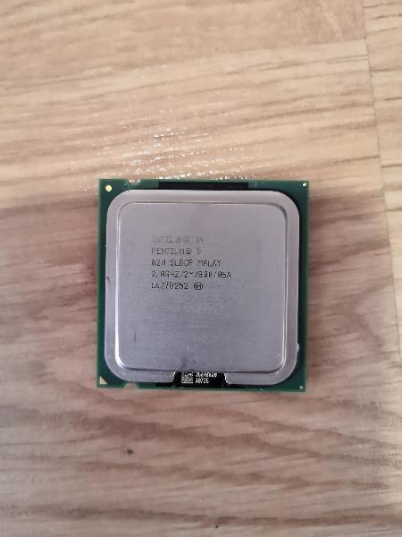Pentium d 820 2.80ghz, 2mb caché, plga775