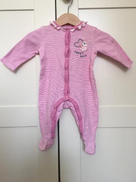 Pijama/pelele niña, talla 56