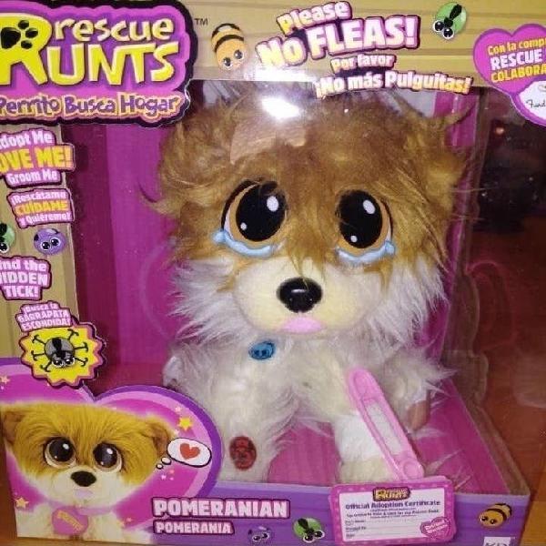 Rescue runts perrito juguete nuevo niño niña
