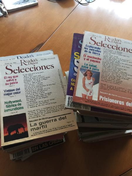 Revistas años 80-90 de readers's digest seleccione