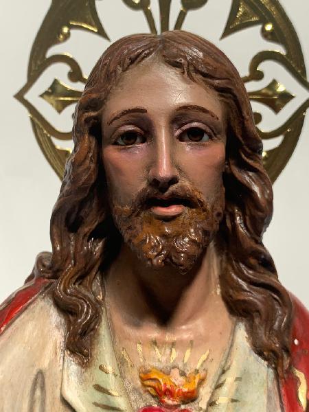 Sagrado corazón de jesús , cristo rey