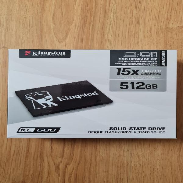 Ssd upgrade kit kingston 512gb kc600