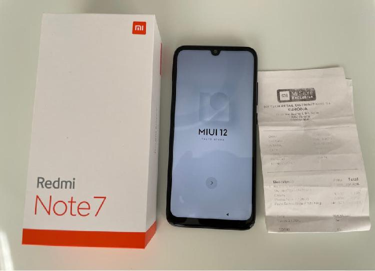 Xiaomi redmi note 7 128gb garantia oficial