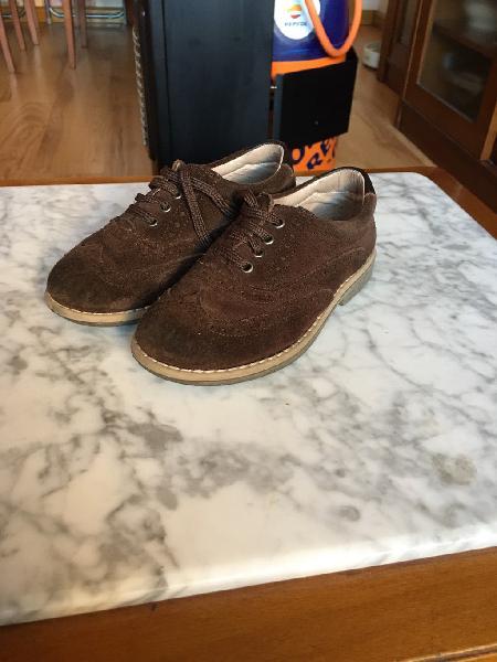 Zapatos marrón chocolate