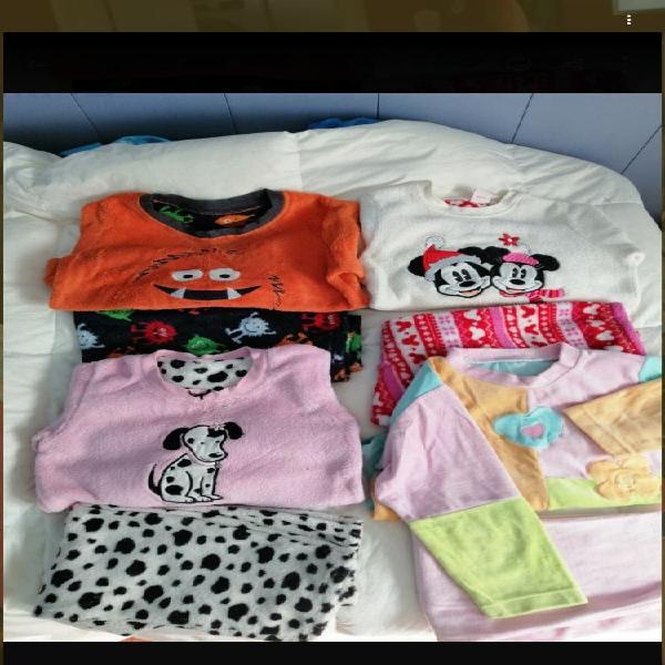 Lote pijamas niña 5-6 años