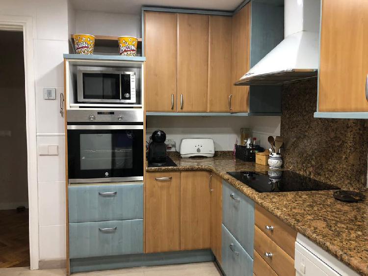 Muebles cocina, encimera granito y fregadero