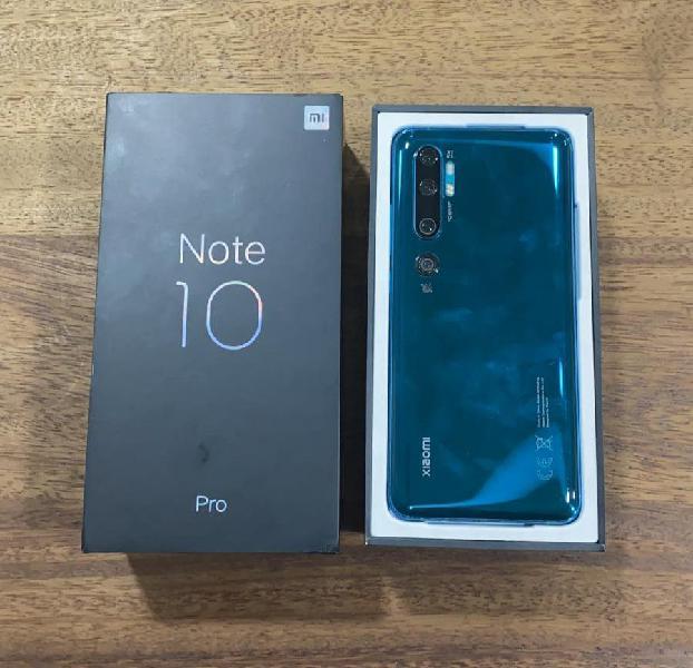 Xiaomi mi note 10 pro 256gb verde leves marcas