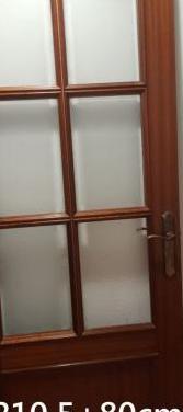 6 puertas macizas