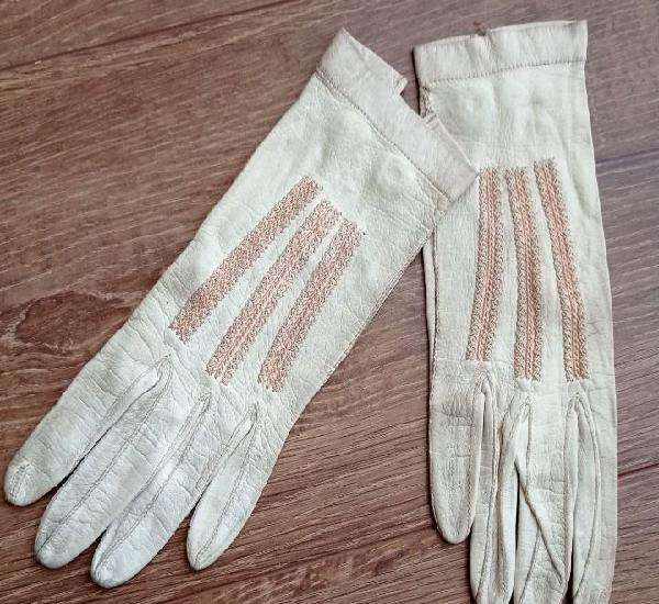 Antiguos guantes de piel - nicolet paris