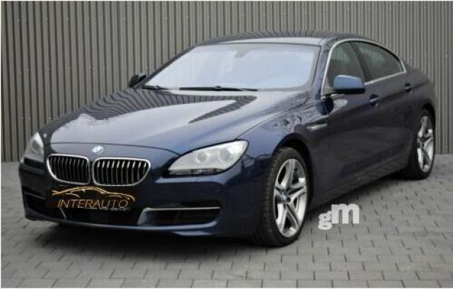 Bmw serie 6 gran coupé 640d xdrive 313cv diésel