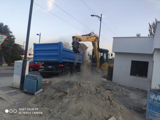 Empresa de excavaciones y movimiento de tierras