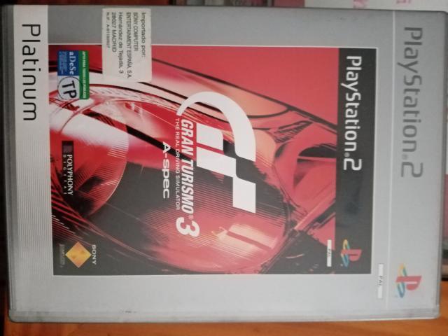 Se vende juego de ps2 gran turismo 3