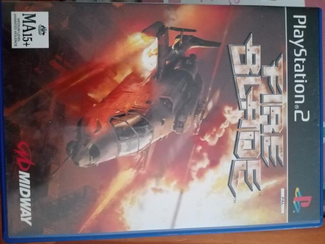 Se vende juego de ps2 llamado fire blade