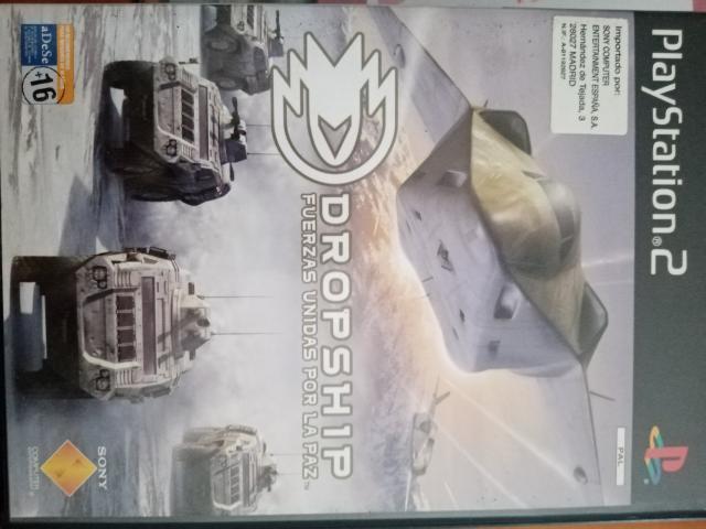 Se vende juego de ps2 llamado dropsit