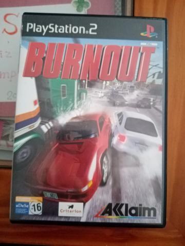 Se vende juego de ps2 llamado burnout