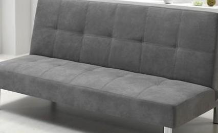 Sofa cama. color gris. clic clac nuevo