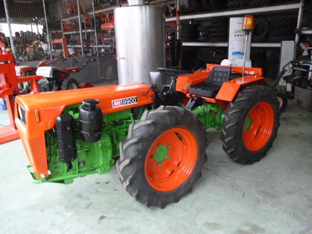 Tractores agrícolas agria 9900n pontevedra
