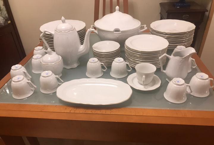 Vajilla porcelana inglesa