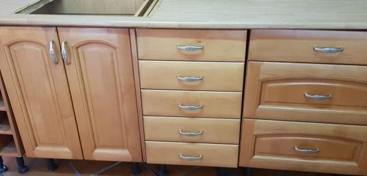 Muebles de cocina en madera
