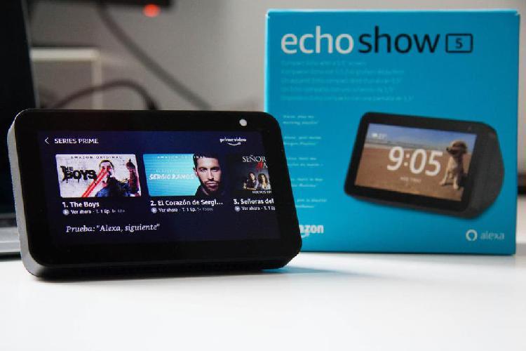 Amazon echo show 5 color antracita a estrenar
