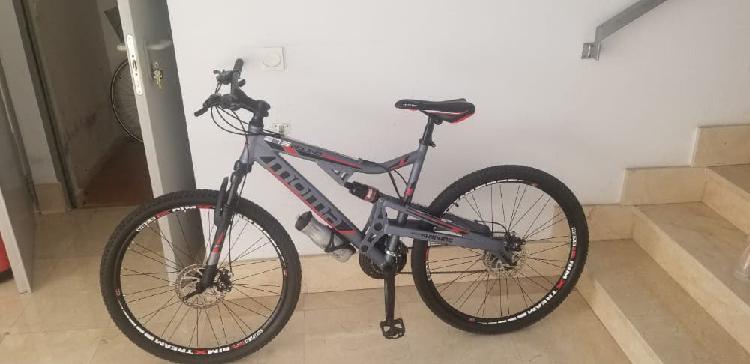 Bicicleta mountain bike de aluminio moma equinox