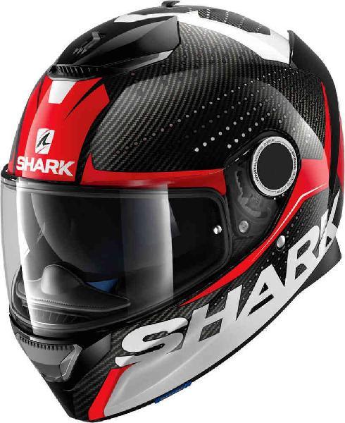 Cascos shark spartan carbon silicium y race