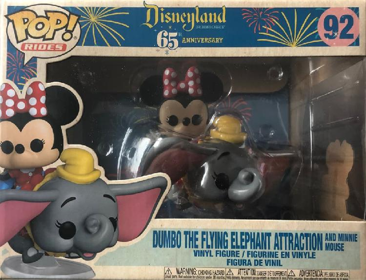 Funko pop dumbo and minnie mouse disney