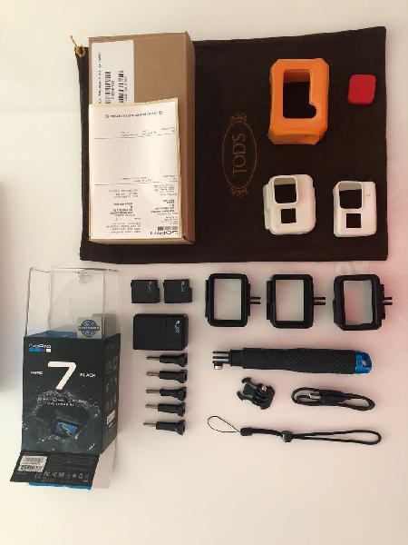 Gopro black 7 nueva a estrenar + accesorios