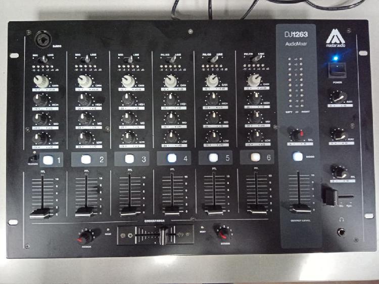 Mesa de mezclas máster audio dj1263