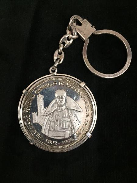 Moneda de plata , francisco franco.