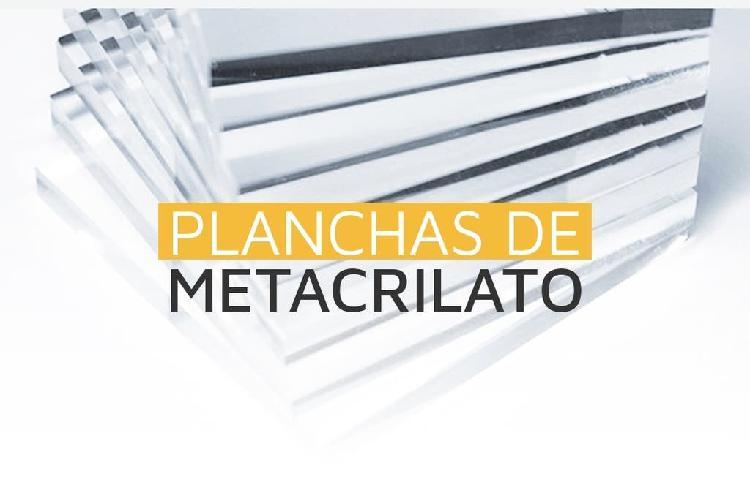 Planchas de metacrilato transparente